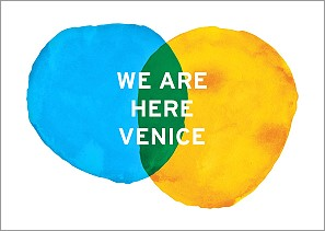 Visit the We are here Venice website